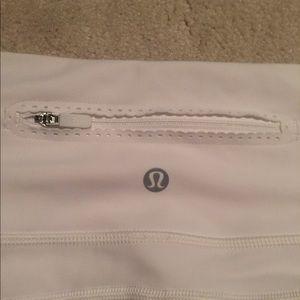 lululemon athletica Pants - Lulu Size 8 Unworn White Cropped Leggings